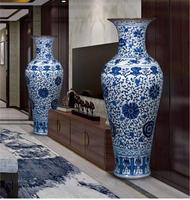 Antique style big vase for collection (pair)